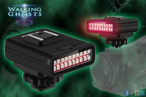 IR Infrared Rechargeable Night Vision Light USB Infrared Ghost Hunt Paranormal